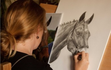Learn Angie's top tips and ensure your pencil portraits look their best