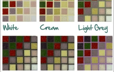 How to Choose Mosaic Grout
