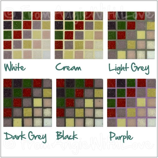 Designer Tips And Tricks For Choosing Tile: Pencil Portrait Artist How To Choose Mosaic Grout