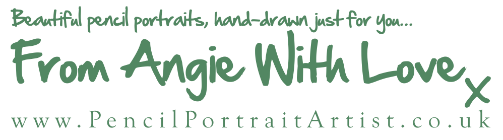 Pencil Portrait Artist - Beautiful portraits, hand drawn just for you by coloured pencil artist Angie
