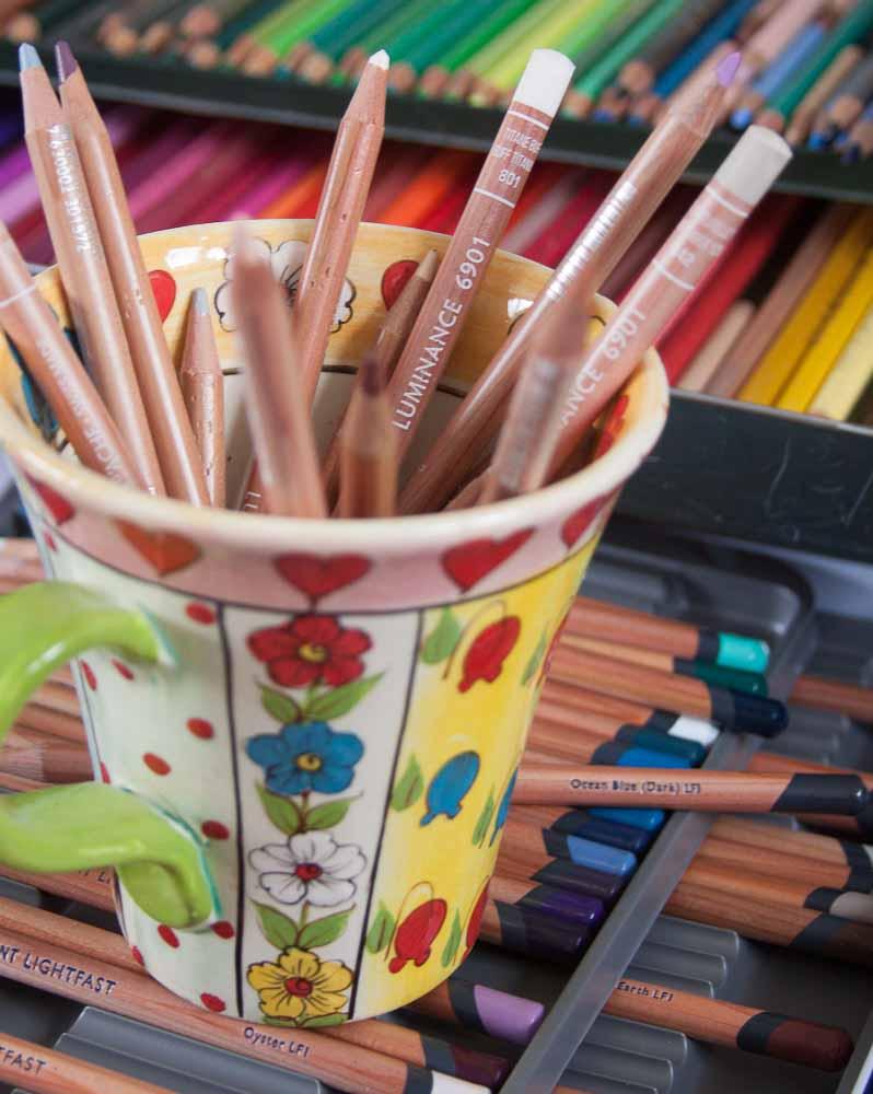 Caran D'Ache Luminance Coloured Pencils