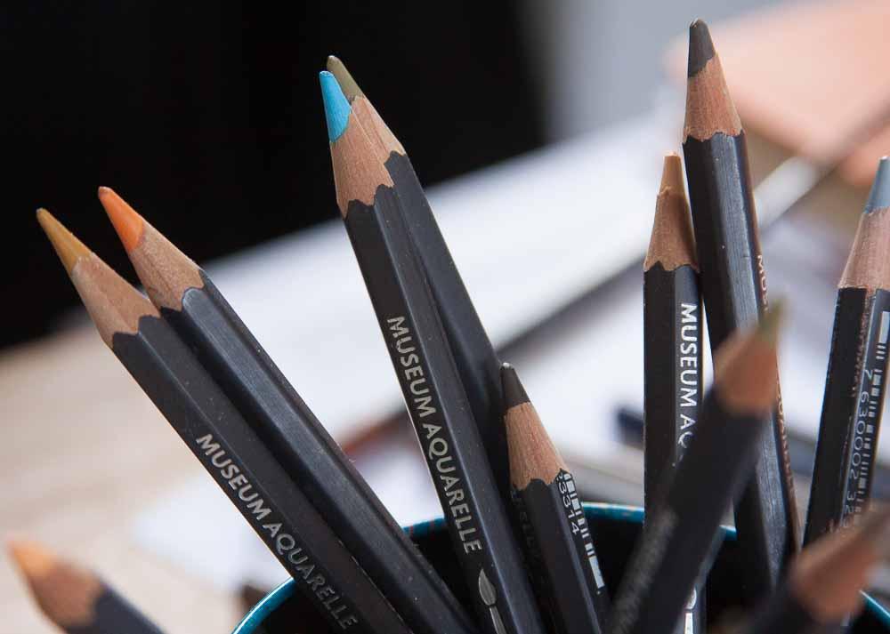 Caran D'Ache Museum Aquarelle Coloured Pencils
